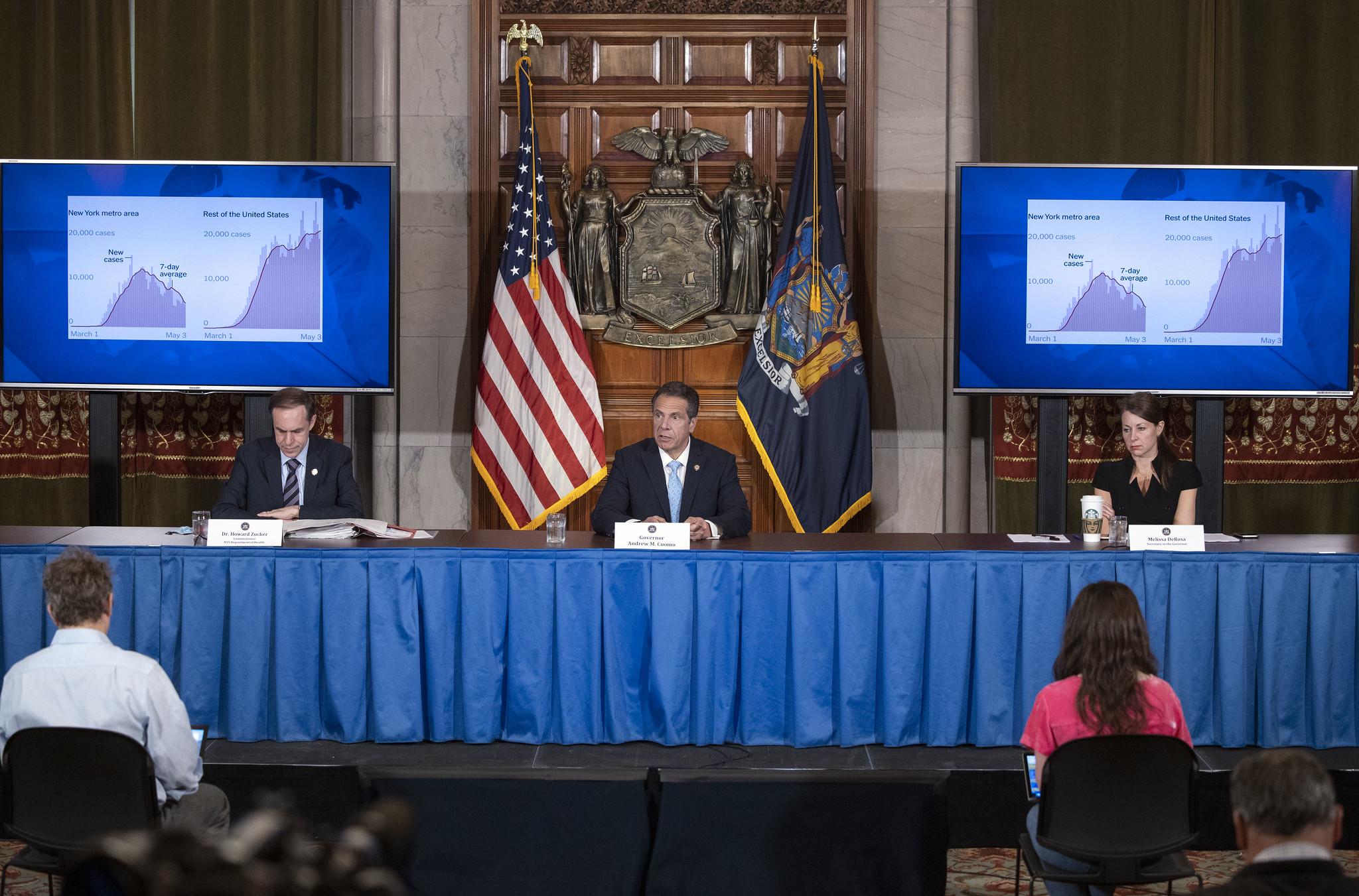 Gov. Andrew Cuomo's coronavirus press conference for ...