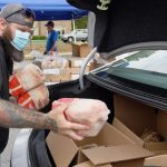 Gallery: Food distribution event at Milton Town Hall Tuesday