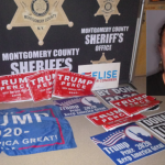 Montgomery Co. Sheriff: Schenectady woman drove juveniles around to steal Trump, other campaign sign...