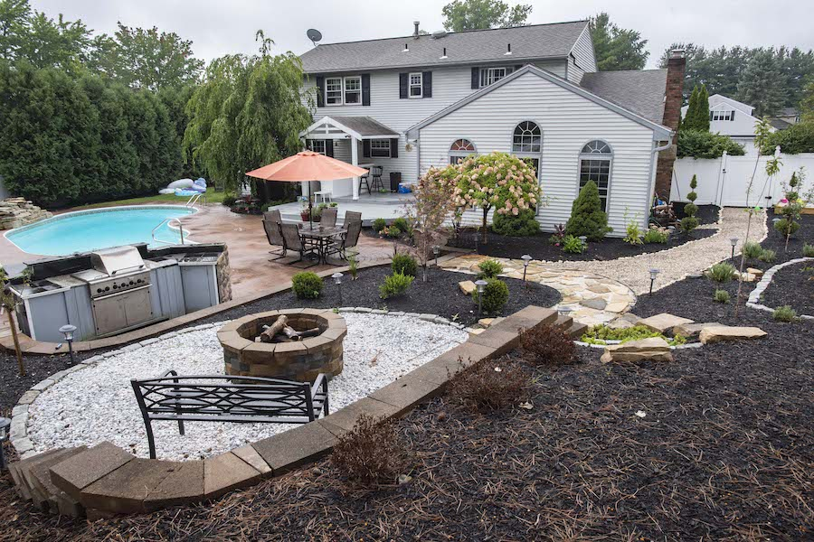 Loudonville Mom Transforms Backyard Into Destination And House Into A Home The Daily Gazette