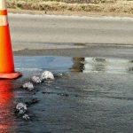 Water main break shuts down part of I-890