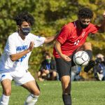 Puccioni's two goals help Niskayuna boys' soccer top Shaker, remain perfect