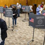 Remaining early voting times, Monday through Nov. 1