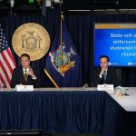 Gov. Andrew Cuomo's press conference for Sunday, Oct. 18