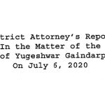 Read: Schenectady County DA's report on the arrest of Yugeshwar Gaindarpersaud