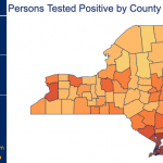 Capital Region COVID-19 Tracker for Friday, Oct. 23, by county