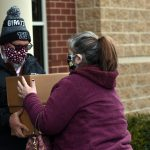 Images: Photos from Sunday's turkey basket distribution in Ballston Spa