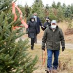 Photo Gallery: Event to promote local Christmas tree cutting at Goderie's Tree Farm in Johnstown