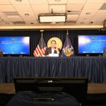 Gov. Andrew Cuomo's press conference for Monday, Nov. 23