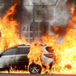 Photos: Car fire Thursday in Malta