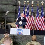 Pence delivers final speech as vice president