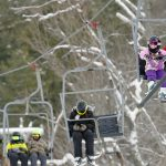 Photos: Skiers at Caroga Lake's Royal Mountain Monday