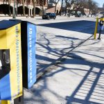 Electric vehicle chargers unveiled on Liberty Street