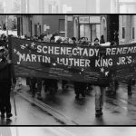 Scrapbook 1989, 1996: Martin Luther King Day remembrances in Schenectady and Albany