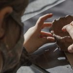 Images: Working with clay Sunday at C.R.E.A.T.E Community Studios in Schenectady