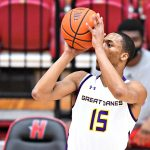UAlbany men's basketball sharp in America East playoff opener