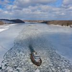 State pilot program uses tugboats in initial effort to mitigate ice jams
