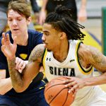 Siena men's basketball wins, locks up No. 1 seed for MAAC tournament