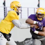 15 months since last game, UAlbany football kicks off six-week sprint through the spring at New Hamp...