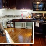 In & Out of the Kitchen: Floors refinished — the longest days