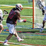 Freshman goalie Donahue shines in debut as Union men's lacrosse bests St. Lawrence