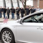 Photos: Schenectady police, firefighters, deputies honor late retired city police Sgt. Raymond Wempl...