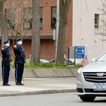 Retired Schenectady Police Sgt. Ray Wemple is bid farewell; Died April 5, served for 34 years in blu...