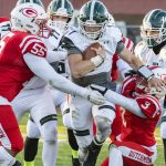 Guilderland football outlasts Shenendehowa to reach Class AA championship game