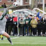 After 2 years of waiting, Adams starring at goalie for NCAA tournament-bound Siena women's soccer
