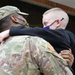 Army sergeant's homecoming surprises Amsterdam second-grader