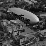 Scrapbook 1963, 1982: Over Schenectady and Albany in the Goodyear Blimp
