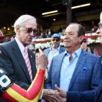 Baffert suspended in New York; Rice has license revoked