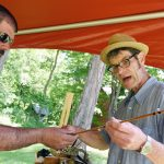 Craftsmen offer insight, items to fishing peers at the Schoharie River Center in Esperance
