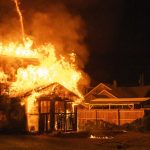 Images: Early Monday fire destroys garage in Schenectady (with video)