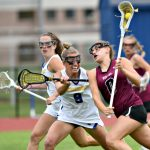 Queensbury girls' lacrosse earns Class B title three-peat with 17-11 win over Burnt Hills