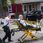 Wednesday crash damages Schenectady home, one person taken to hospital
