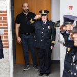 Niskayuna interim Police Chief Fran Wall gets sendoff by fellow officers, family, officials