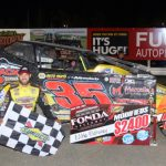 Mahaney gets second feature win of the season at Fonda Speedway