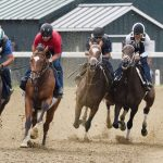 After layoff, Malathaat ready to roll again as 2-5 favorite in CCA Oaks