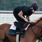 Lightly raced First Captain works toward start in Friday's Curlin