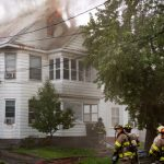 Tuesday fire damages Mont Pleasant home in Schenectady; Firefighter suffers injury