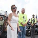 Cross-country motorcyclists honor mother of fallen Army sergeant in Saratoga Springs