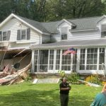 Propane dryer explosion damages house in Glenville; Two people inside taken to hospital, officials s...