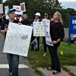 Rally in Amsterdam protests health care worker vaccine mandate