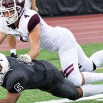 College notes: Union football's Tolbert recognized as rookie of the week for 2nd time