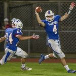 Saratoga Springs football pulls away from Schenectady
