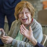 Nine centenarians residing at Schenectady County's Glendale Home celebrated