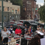 Candidate for Schenectady City Council shows up at Democratic rally despite not being invited by org...