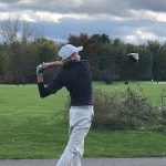 Glens Falls' Dock medalist in tough conditions at state high school golf qualifier