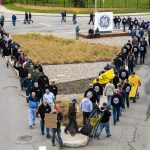 GE Workers protest vaccine mandate